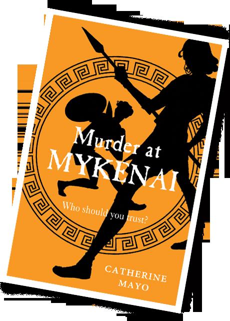 Murder at Mykenai cover