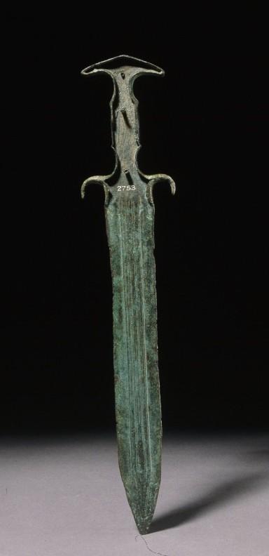 Mycenaean dagger © TheTrustees of the British Museum