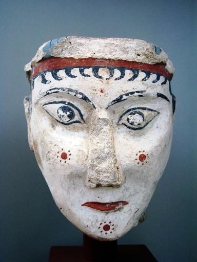 Mycenaean goddess, from Mykenai, photo by Andonis Katanos