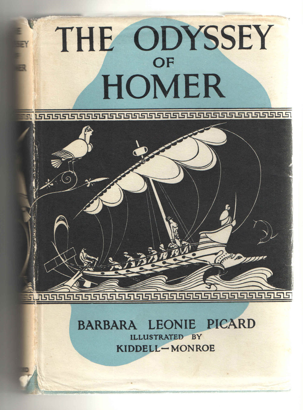 My copy of Barbara Leonie Picard's Odyssey