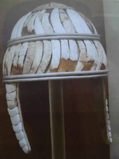 Boar's tusk helmet. Historum.com