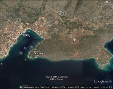 8. Korfos harbour area Google Earth